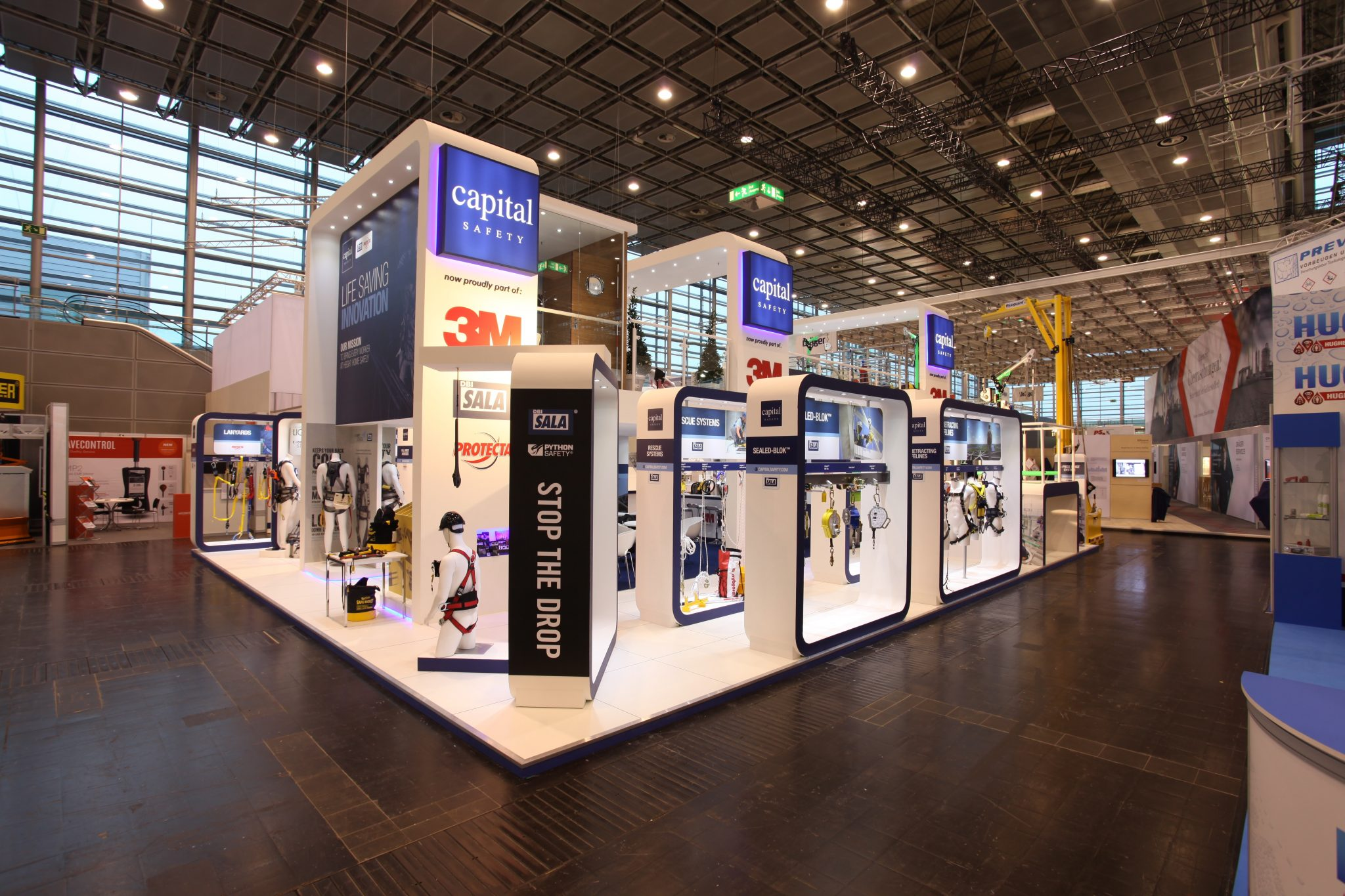 Our exhibition stand at A+A