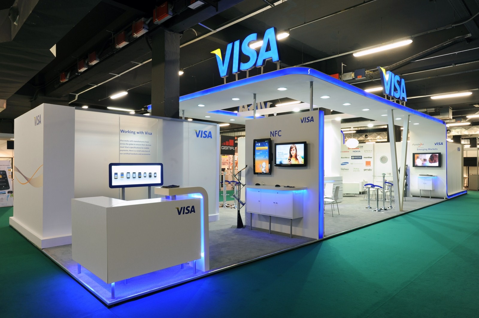 Excellent Exhibition Stand Design : The ice agency exhibition stand design and management