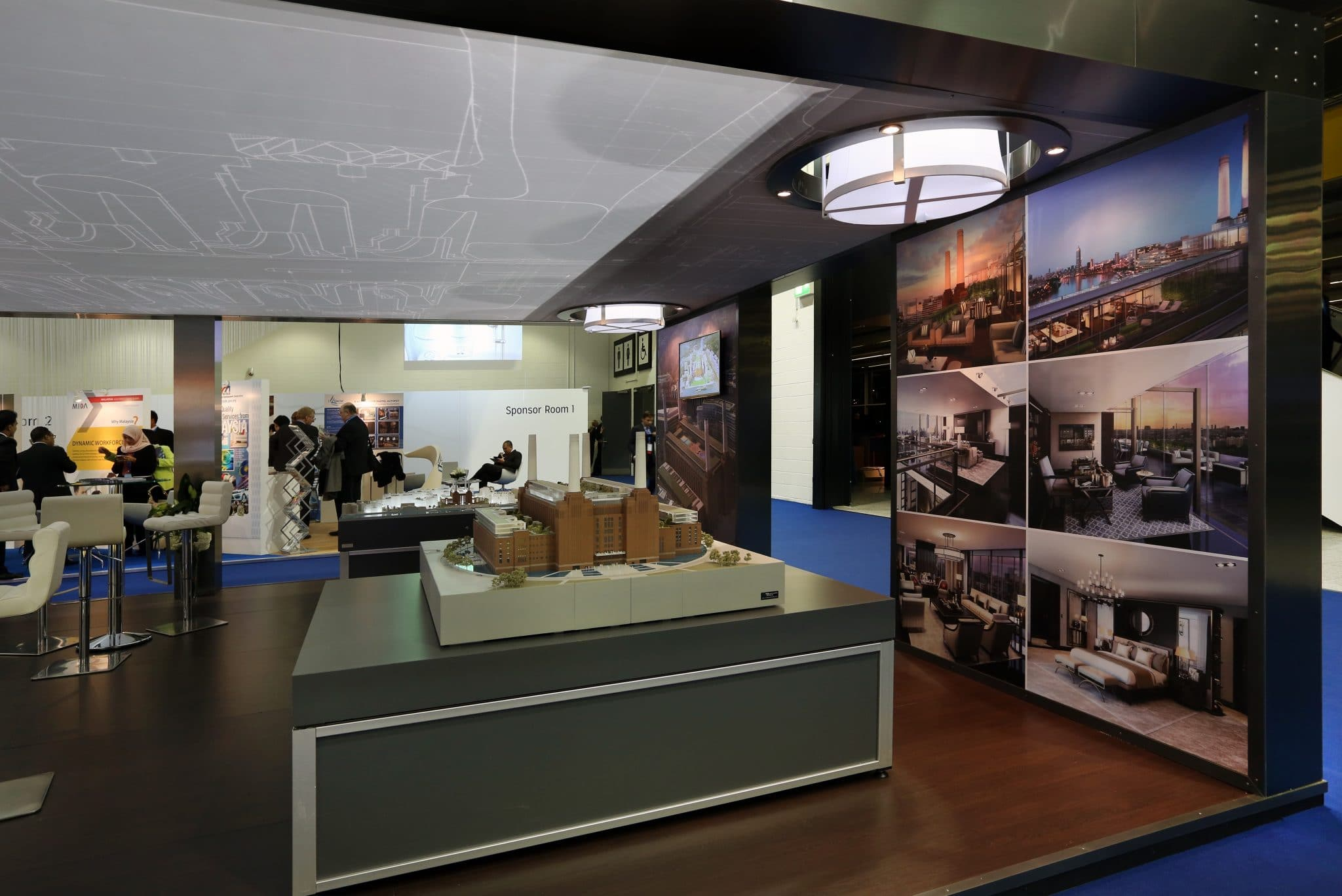 Exhibition Stand Design Companies Uk : Battersea power station development company at wief the