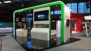 NetEnt's exhibition stand at EiG