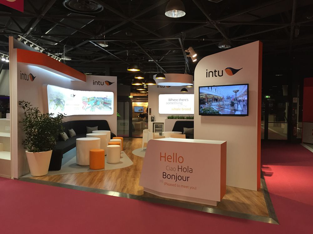 Exhibition Stand Agency : Intu at mapic the ice agency exhibition stand design and management