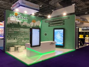 The Entertainer at World Travel Market 2018